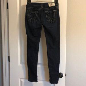 EUC True Religion skinny jeans- size 26